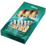 Wera 018251 6 Piece Wooden Handle Screwdriver Set