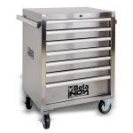 Beta C04TSS/7 INOX 'Stainless Steel' 7 Drawer Mobile Roller Cabinet