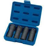 "Draper 05726 1/2"" Drive 4 Piece Deep Impact Damaged Nut and Bolt Remover Socket Set 17-22mm"