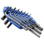 "Britool ""Expert"" E069253 10 Pce. Short Hex Key Set - 1.5-10mm"