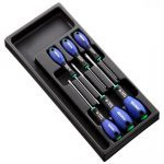 Expert by Facom E194941 6 Piece. Screwdriver Set In Module For Tool Box