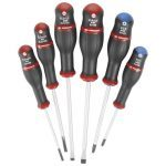 Facom AND.J6 6 Pce. Slotted & Pozi Screwdriver Set