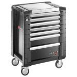 Facom JET.7GM3 JET+ 7 Drawer Roller Cabinet Grey