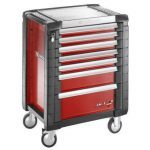 Facom JET.7M3 JET+ 7 Drawer Roller Cabinet Red