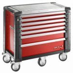Facom JET.7M5 JET+ 7 Drawer Roller Cabinet - Red