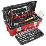 Facom 2026.M100A 59 Pce. Mechanical Tool Set With Plastic Tool Box