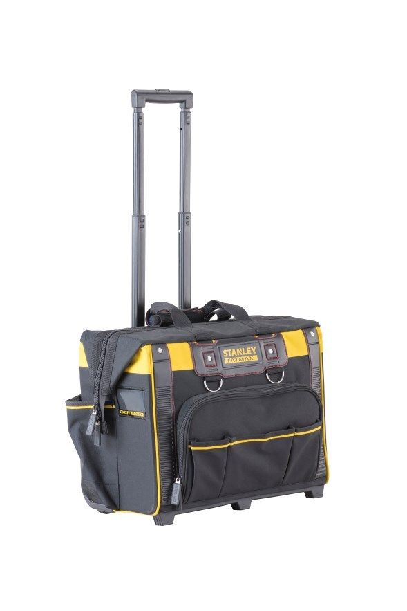 Stanley Fatmax 1-80-148 Rolling Tool Bag on Wheels with Handle