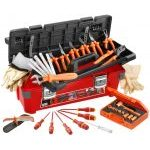 Facom 2185C.VSE 20 Pce. 1000 V Insulated Tool Set in Plastic Tool Box