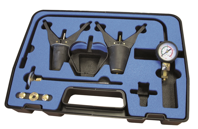 Sykes Pickavant 33190500 '319' Series Cooling System Pressure Testing  Expansion Plug System Test Kit (XL Kit)