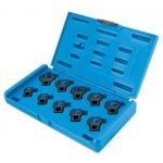 "Laser 4757 3/8"" Drive 10 Piece Crowfoot Wrench Set 10-19mm"