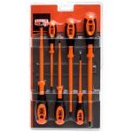 Bahco 620-6 6 Piece VDE Insulated Screwdriver Set Slotted & Phillips