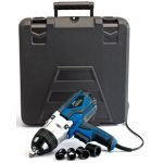 "Draper 82994 Storm Force 240V 1000W 1/2"" Drive Impact Wrench Gun Kit With 4 Impact Sockets 480Nm"