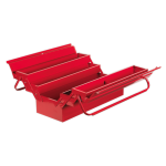 Sealey AP521 Cantilever Metal Toolbox 4 Tray 530mm long - Red