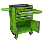 Sealey Tools AP980MTHV Tool Trolley with 4 Drawers, 2 Door Cupboard & Shelf