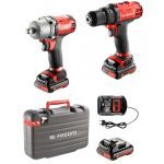 "Facom CL3.CP10SJ Cordless 10.8V 1/2"" Drive Impact Gun Wrench / Drill Duo Pack"