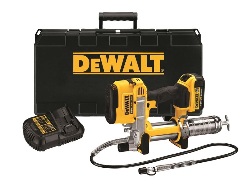Dewalt Dcgg571m1 Gb 18v Xr Li Ion Cordless Grease Gun 4 0ah