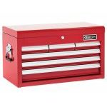 Britool E010237B  6 Drawer Tool Chest Top Box - Red