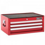 Britool E010242B 3 Drawer Mid Section Tool Box (Chest) Red