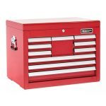 Britool Expert E010240B 10 Drawer Tool Chest Cabinet - Top Box - Red