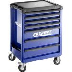 Expert by Facom E010193 - 7 Drawer 3 Module wide Roller Cabinet - Blue