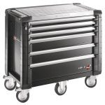 Facom JET.6GM5 JET+ 6 Drawer Roller Cabinet - Grey