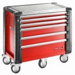 Facom JET.6M5 JET+ 6 Drawer Roller Cabinet - Red