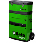 Beta C41H Two - Module Tool Trolley Cabinet - Green