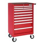 Britool E010233B 11 Drawer Roller Cabinet Tool Box - Roll Cab - Red