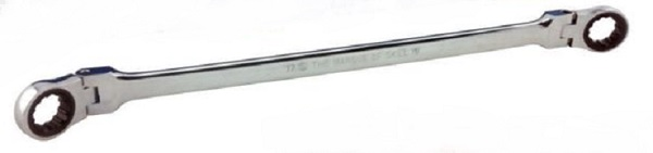 Britool Hallmark RRXL10 Extra Long Ring and Ratchet Ring Spanner 10mm