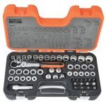 Bahco S530T 53 Piece Pass-Through / Go Thru Multi Drive Metric Ratchet Socket Set