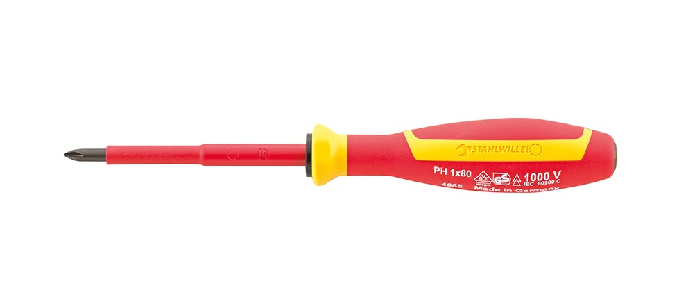 Wera Kraftform 006156 162i VDE Insulated Phillips Screwdriver PH3 x 150mm