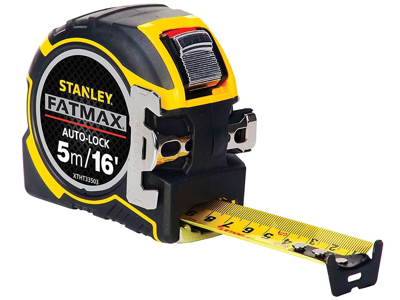 Stanley XTHT0-33503 FatMax Autolock 5m 16ft Metric Imperial Tape Measure  32mm Wide