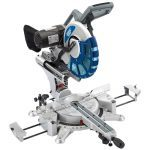 Draper 28045 305mm Double Bevel Sliding Compound Mitre Saw With Laser 240 Volt