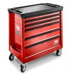 Facom ROLL.6M4 6 Drawer Wide XL Mobile Roller Cabinet Red