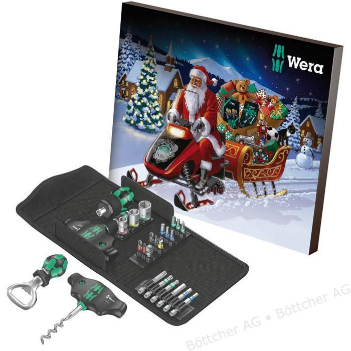 wera 136600 limited edition christmas advent calendar 2019. Black Bedroom Furniture Sets. Home Design Ideas