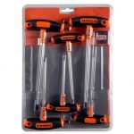 Bahco 903T-2 6 Piece T-Handle Torx Key Set T10-T40