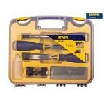 Irwin Marples 10507931 MS500 Soft Touch Bevel Edge Chisels & Sharpening Set
