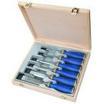 Irwin Marples 10503541 MS500 Soft Touch Bevel Edge Chisel Set in Wooden Case